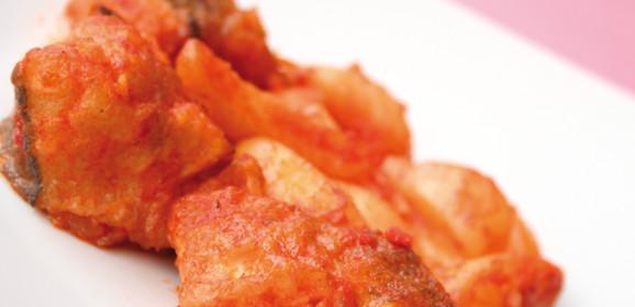 Baccalà con patate tradizionale